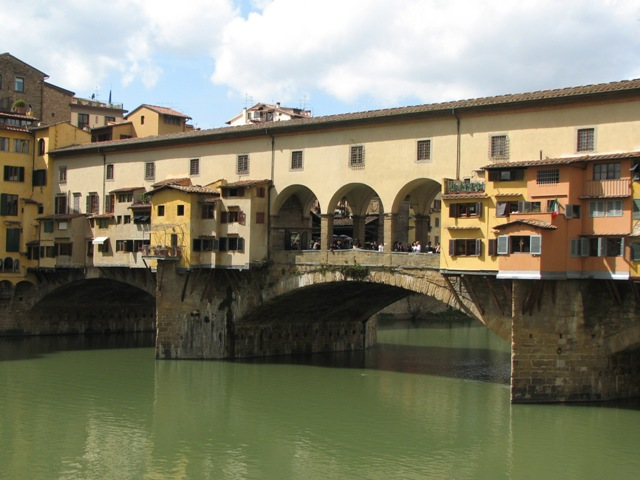 Other side of the Ponte Vecchio