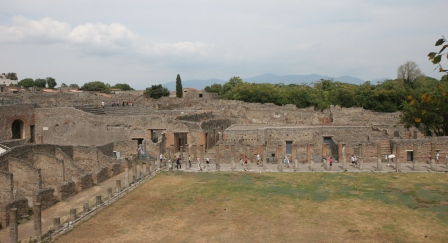Gladiatorial barracks, Pompeii 2007