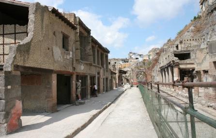 Decumano Massimo, Ercolano 2007