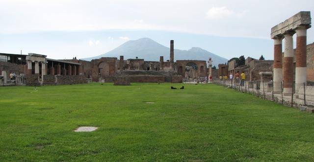 Foro, Pompei 2007