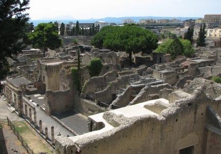 Ercolano, veduta mare, 2007