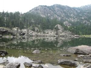 Mont Avic, Lac de Servaz, 1806 metres