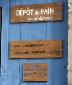Depot de pain, La Motte-Ternant