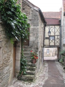Side street, Flavigny