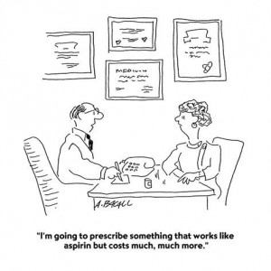 aaron-bacall-i-m-going-to-prescribe-something-that-works-like-aspirin-but-costs-much-cartoon
