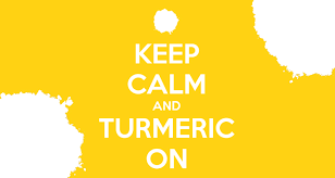 keep calm and turmeric on